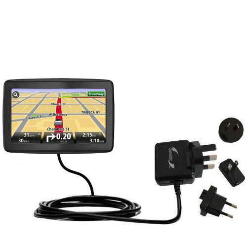 International Wall Charger compatible with the TomTom VIA 1500