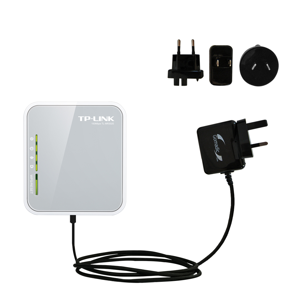 International Wall Charger compatible with the TP-Link TL-MR3020
