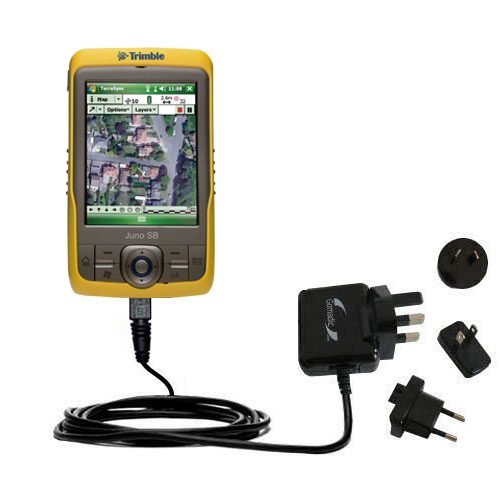 International Wall Charger compatible with the Trimble Juno SB