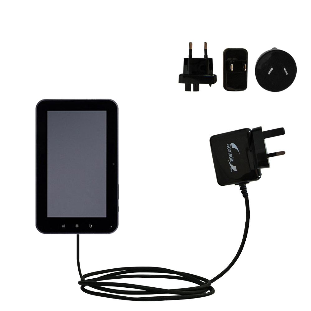 International Wall Charger compatible with the Tursion ZTPAD ZT PAD ZT102