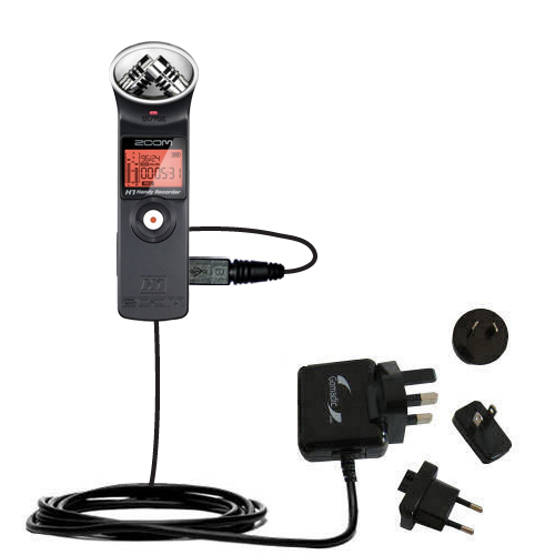 International Wall Charger compatible with the Zoom H1