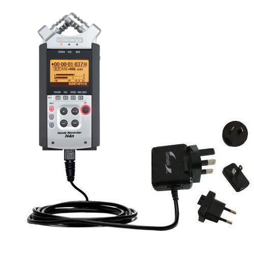 International Wall Charger compatible with the Zoom H4n