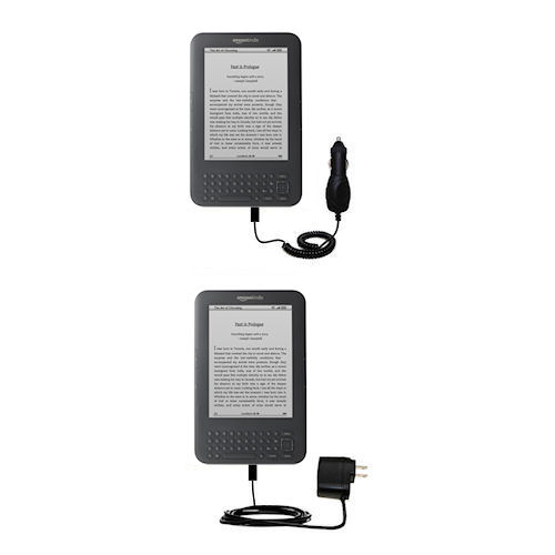 Rapid Car Wi-Fi Free 3G 6in. 9.7in. Auto Charger for the  Kindle Latest Generation