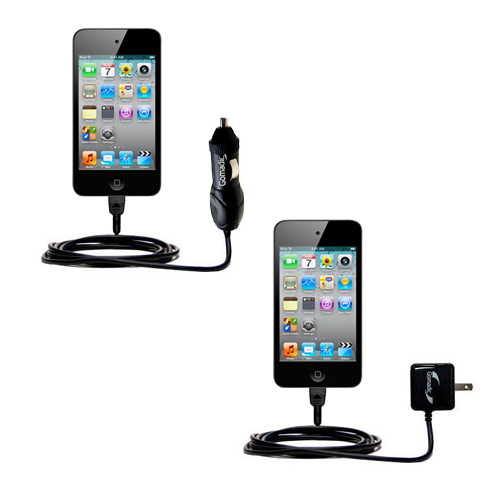 Car & Home Charger Kit compatible with the Apple iPod touch (4th generation)