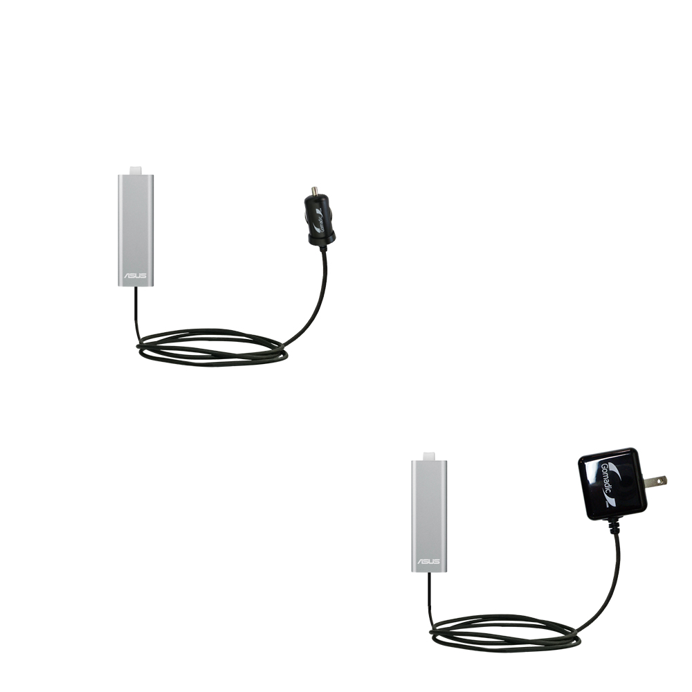 Car & Home Charger Kit compatible with the Asus WL-330NUL