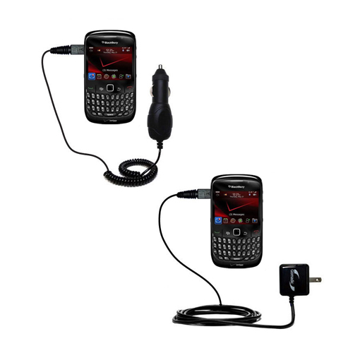 Car & Home Charger Kit compatible with the Blackberry Bold 9650