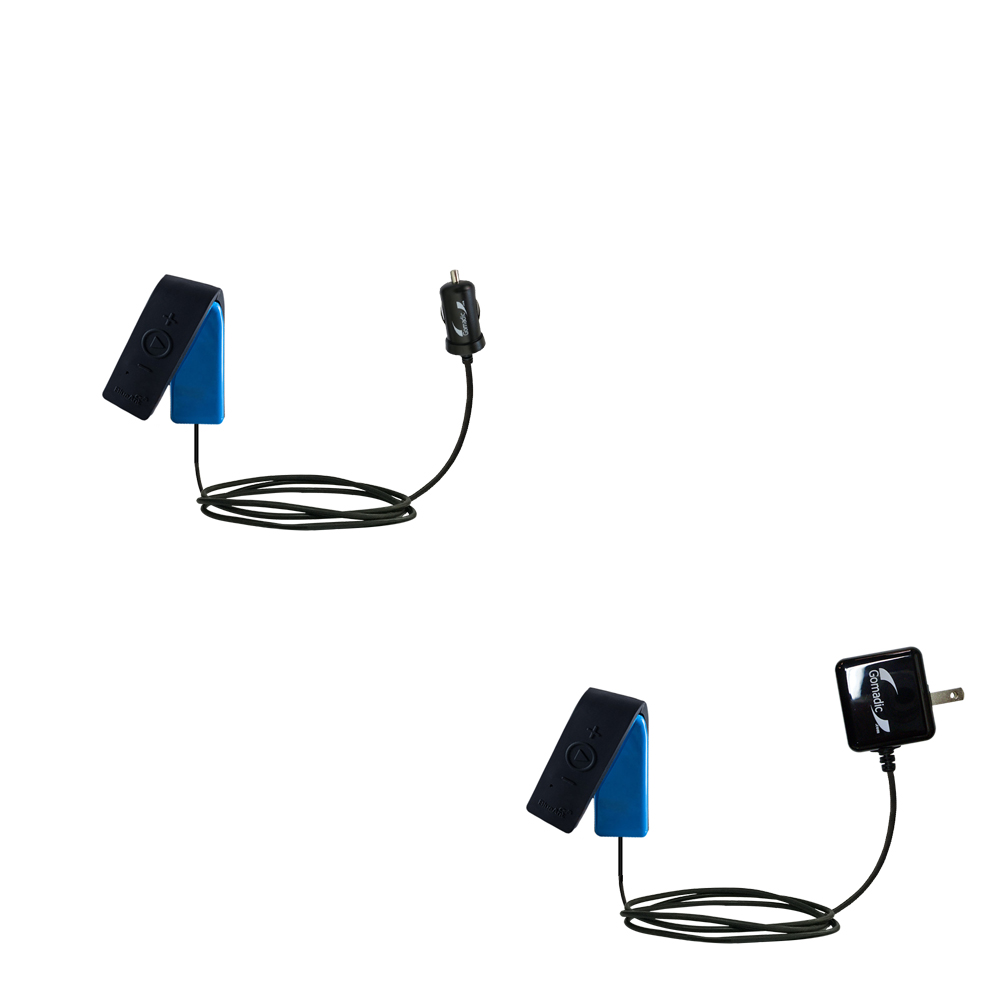 Car & Home Charger Kit compatible with the BlueAnt RIBBON
