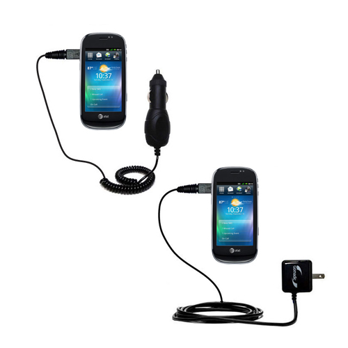 Car & Home Charger Kit compatible with the Dell Aero