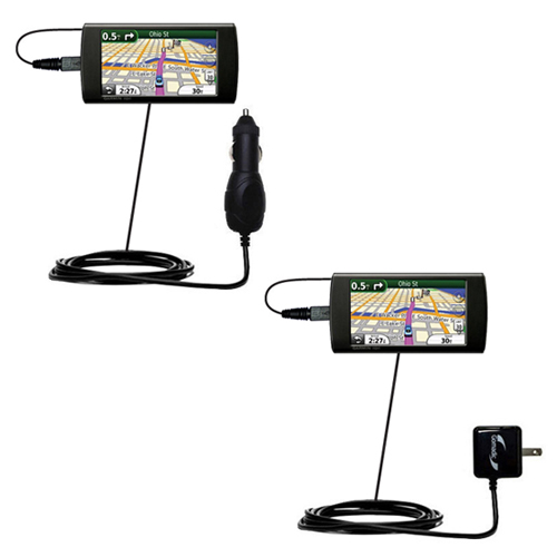 Car & Home Charger Kit compatible with the Garmin 295W