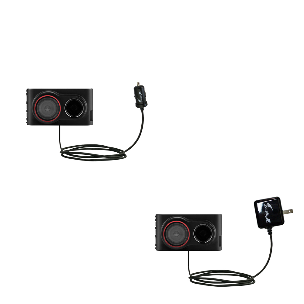 Car & Home Charger Kit compatible with the Garmin Dash Cam 30 / 35