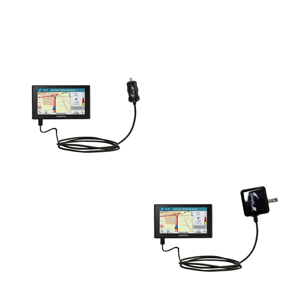 Car & Home Charger Kit compatible with the Garmin DriveAssist 51-LMT