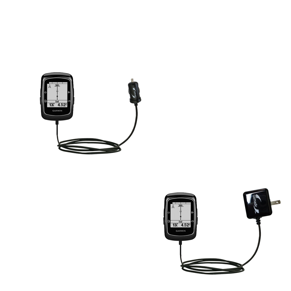 Car & Home Charger Kit compatible with the Garmin EDGE 200