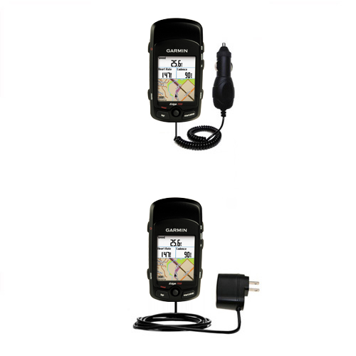 Car & Home Charger Kit compatible with the Garmin Edge 705