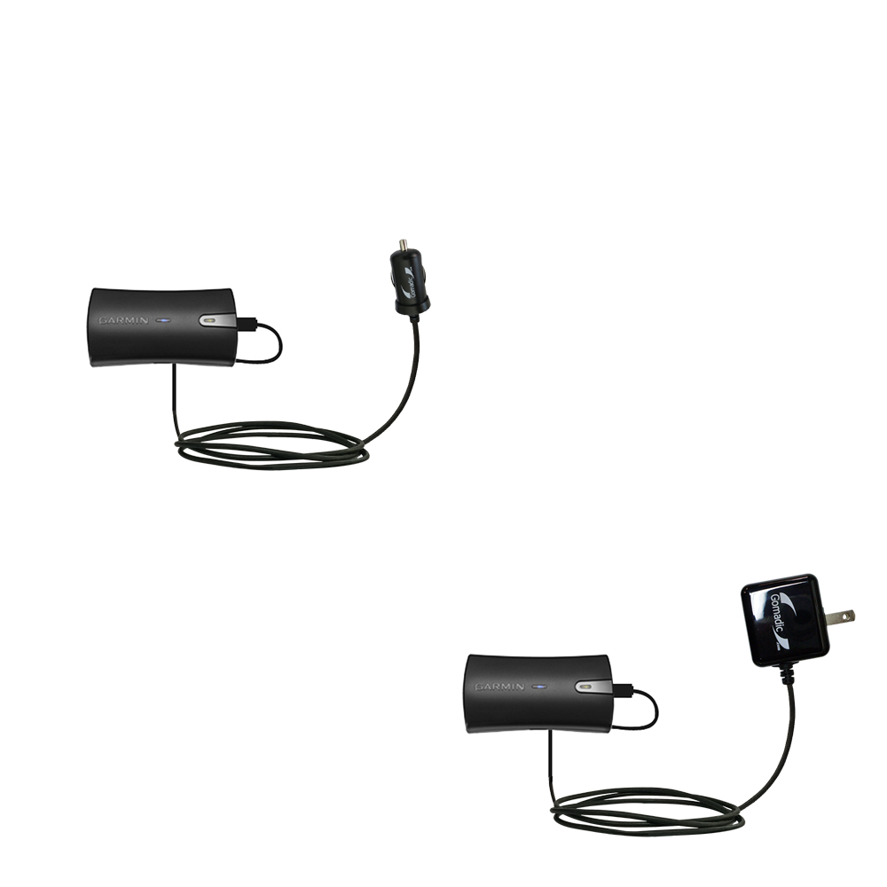 Car & Home Charger Kit compatible with the Garmin GLO