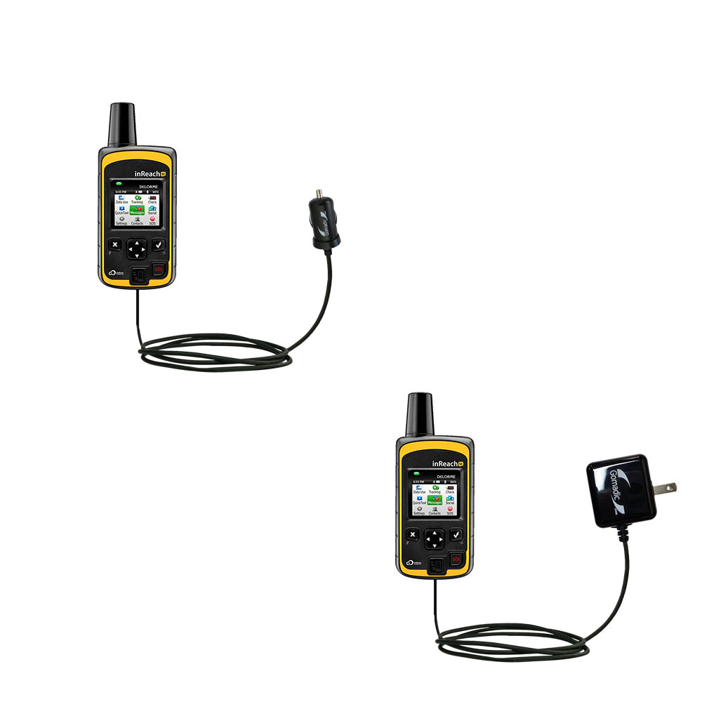 Car & Home Charger Kit compatible with the Garmin inReach SE+