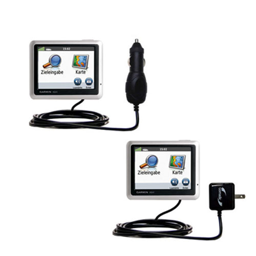 Car & Home Charger Kit compatible with the Garmin Nuvi 1240