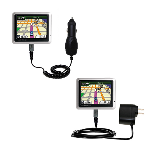 Car & Home Charger Kit compatible with the Garmin Nuvi 1250