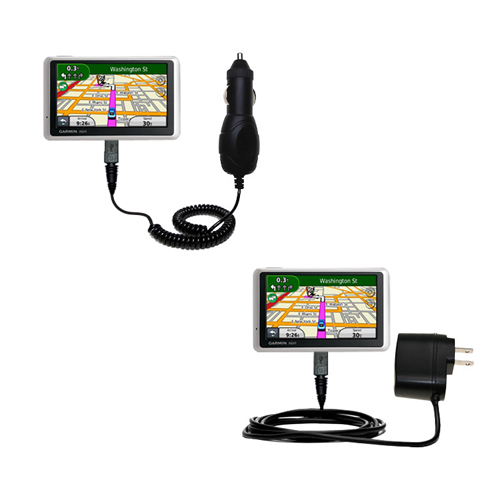 Car & Home Charger Kit compatible with the Garmin Nuvi 1350T