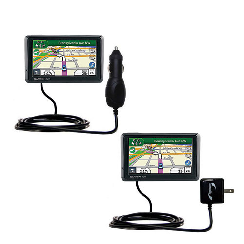 Car & Home Charger Kit compatible with the Garmin Nuvi 1370Tpro