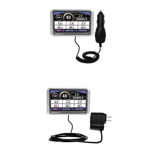 Car & Home Charger Kit compatible with the Garmin Nuvi 200W