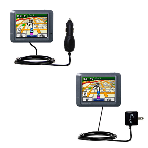 Car & Home Charger Kit compatible with the Garmin Nuvi 215