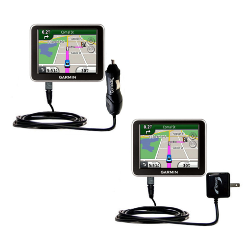 Car & Home Charger Kit compatible with the Garmin Nuvi 2240