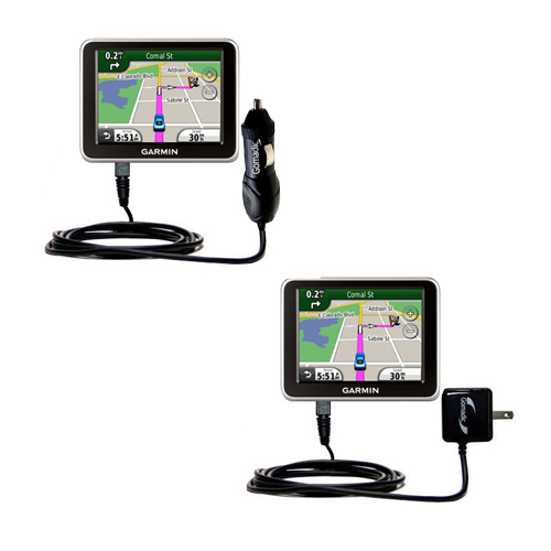 Car & Home Charger Kit compatible with the Garmin Nuvi 2250