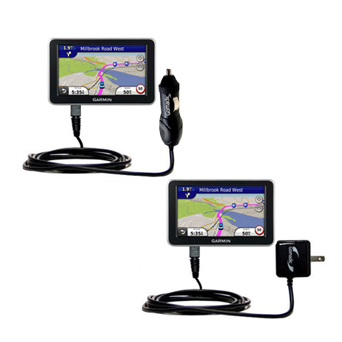 Car & Home Charger Kit compatible with the Garmin Nuvi 2300 2310