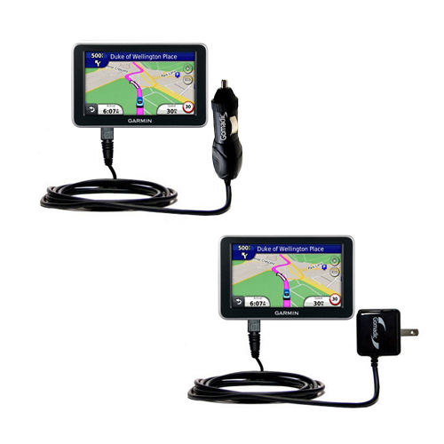 Car & Home Charger Kit compatible with the Garmin Nuvi 2310