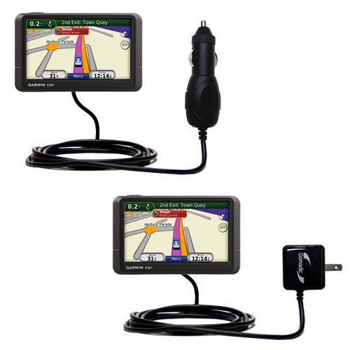Car & Home Charger Kit compatible with the Garmin Nuvi 245 245T 245WT