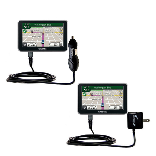 Car & Home Charger Kit compatible with the Garmin Nuvi 2450