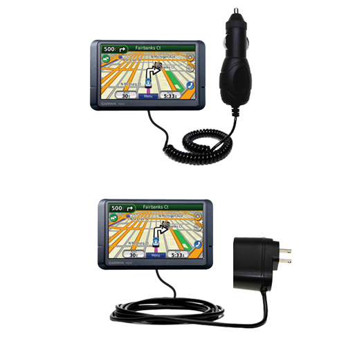 Car & Home Charger Kit compatible with the Garmin Nuvi 265WT 265T