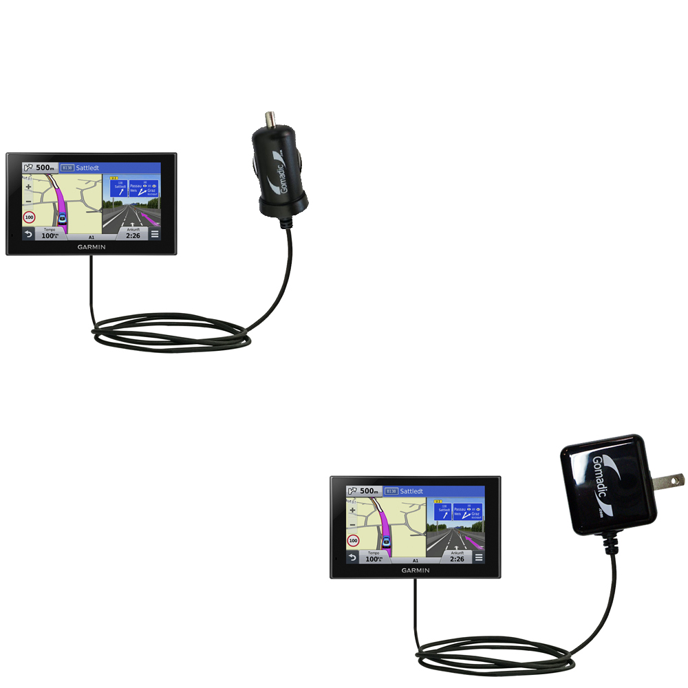 Car & Home Charger Kit compatible with the Garmin nuvi 2789 LMT