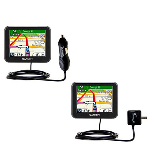 Car & Home Charger Kit compatible with the Garmin Nuvi 30