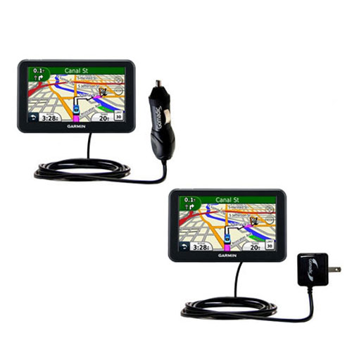 Car & Home Charger Kit compatible with the Garmin Nuvi 3450 3450LM