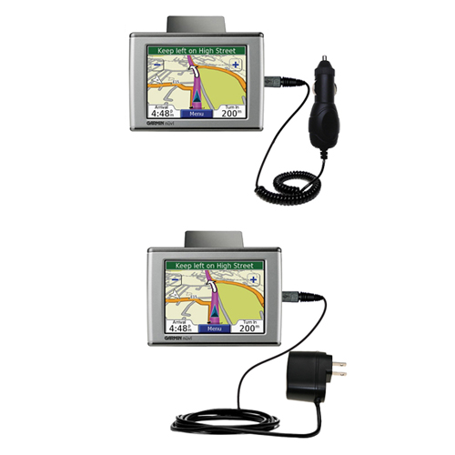 Car & Home Charger Kit compatible with the Garmin Nuvi 350