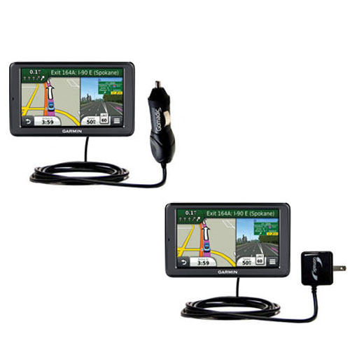 Car & Home Charger Kit compatible with the Garmin Nuvi 3550
