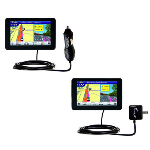 Car & Home Charger Kit compatible with the Garmin Nuvi 3590 3590LMT