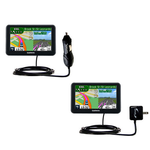 Car & Home Charger Kit compatible with the Garmin Nuvi 50 50LM