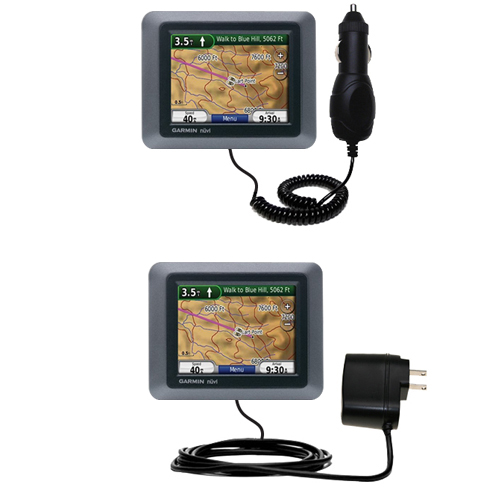 Car & Home Charger Kit compatible with the Garmin Nuvi 500