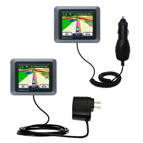 Car & Home Charger Kit compatible with the Garmin nuvi 510
