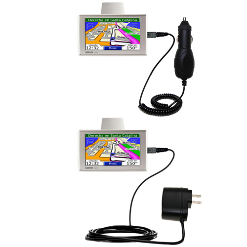 Car & Home Charger Kit compatible with the Garmin Nuvi 610