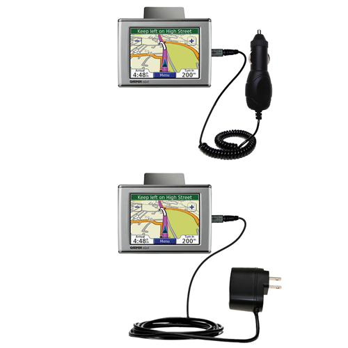 Car & Home Charger Kit compatible with the Garmin Nuvi 670
