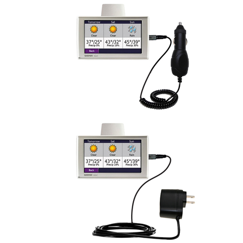 Car & Home Charger Kit compatible with the Garmin Nuvi 680