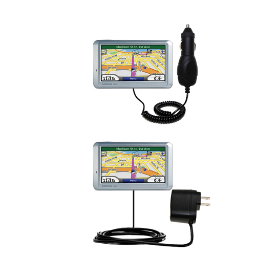 Car & Home Charger Kit compatible with the Garmin Nuvi 710