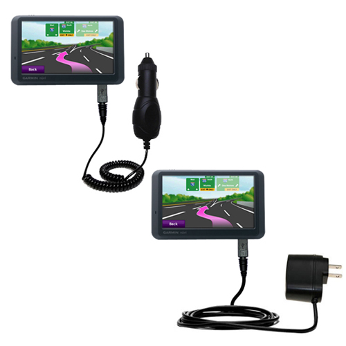 Car & Home Charger Kit compatible with the Garmin Nuvi 755T