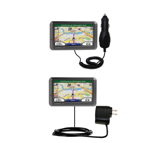 Car & Home Charger Kit compatible with the Garmin Nuvi 760 760T
