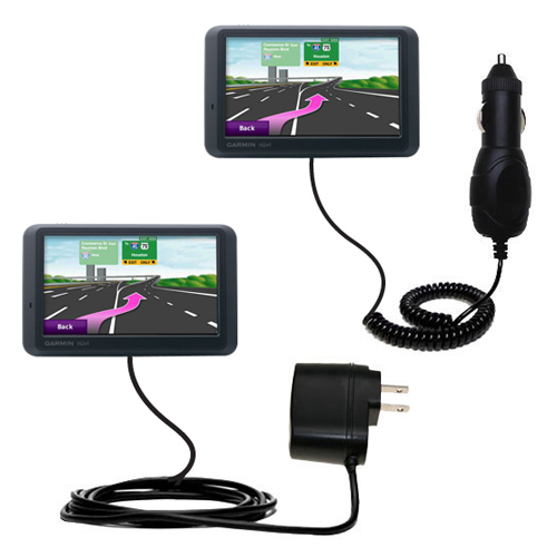 Car & Home Charger Kit compatible with the Garmin nuvi 765