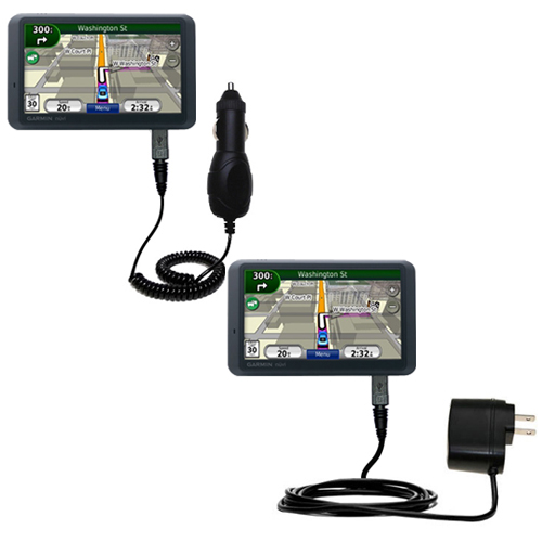 Car & Home Charger Kit compatible with the Garmin Nuvi 765T