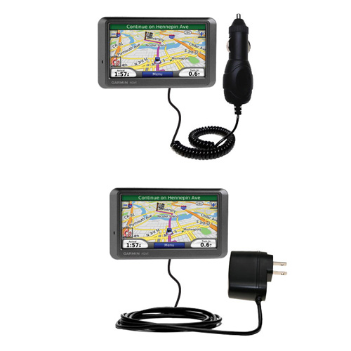 Car & Home Charger Kit compatible with the Garmin Nuvi 770